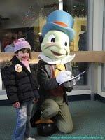 Menina com Grilo Falante, Disney