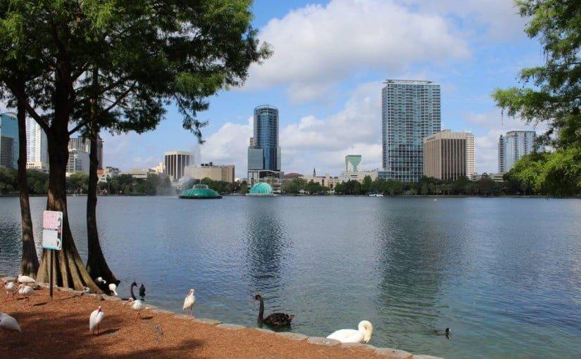 Lake Eola – O Ibirapuera de Orlando