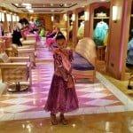 Boutique nos navios Disney – Virando princesa ou pirata