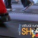 Corrida virtual Disney